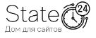 Логотип хостинговой компании State24.site