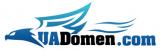 Логотип хостинговой компании UAdomen.com