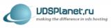 Логотип хостинговой компании VDSPlanet.ru