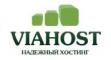Логотип хостинговой компании Viahost.ru