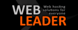 Логотип хостинговой компании Web-leader.net