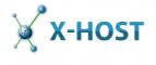 Логотип хостинговой компании X-host.ua